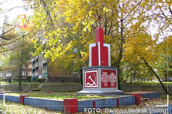 Pomnik Armii Czerwonej w Dąbrowie Górniczej (Gołonóg)