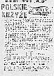 """19811218 - """"WOLNY ZWIĄZKOWIEC HUTY KATOWICE"""" - wydanie strajkowe nr 19"""